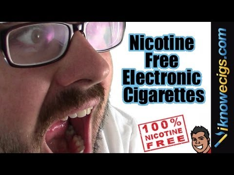 Nicotine Free Electronic Cigarettes