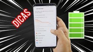 10 Dicas para Economizar Bateria No Galaxy S7,S7 EDGE ,S8, S8+,S9, S9 +