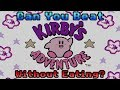 VG Myths - Can You Beat Kirby's Adventure Without Eating?