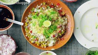 Aloo Tikki Chaat Recipe | Crispy Aloo Tikki Recipe | Village Travel Food