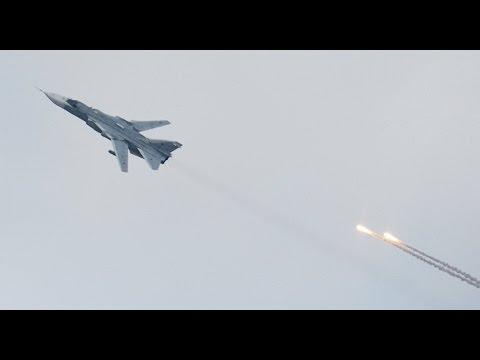 Turkey F-16 Shot Down a Russian Military Plane su 24 Who Violated Its Airspace November 24 2015 thumbnail