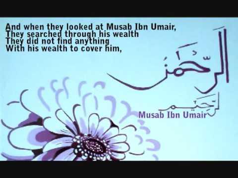 Sahaba Stories; Musab Ibn Umair (RA) - YouTube