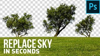 Crazy Trick To Replace Sky in Seconds! - Photoshop Tutorial