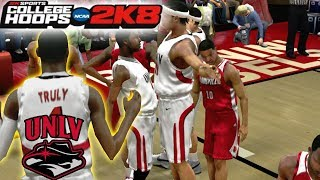 College Hoops 2K8 - MyCareer - UNLV Ranked #1! Vs Louisville Ranked #7!