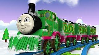 Green Thomas - Thomas The Train Toy Factory Cartoon