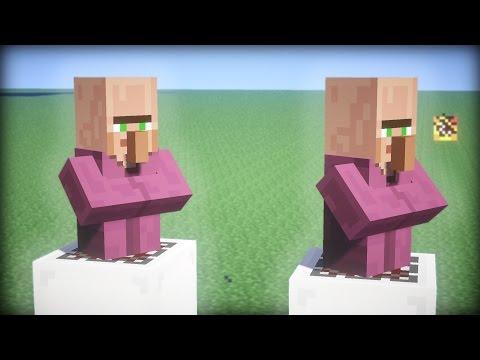 Minecraft VILLAGER MINCER MOD