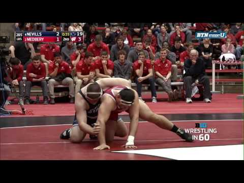 Wrestling In 60: Heavyweight - Nevills Vs. Medbery