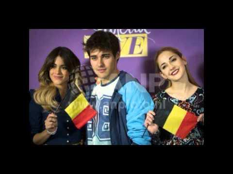 Violetta live en Belgica-fotos .