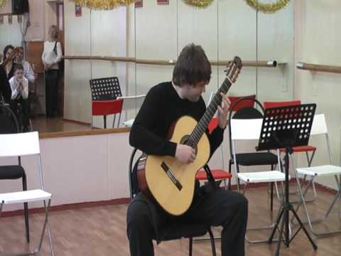 A.Tansman Variation on theme A.Skryabin (Ilya Zaitsev-guitar)