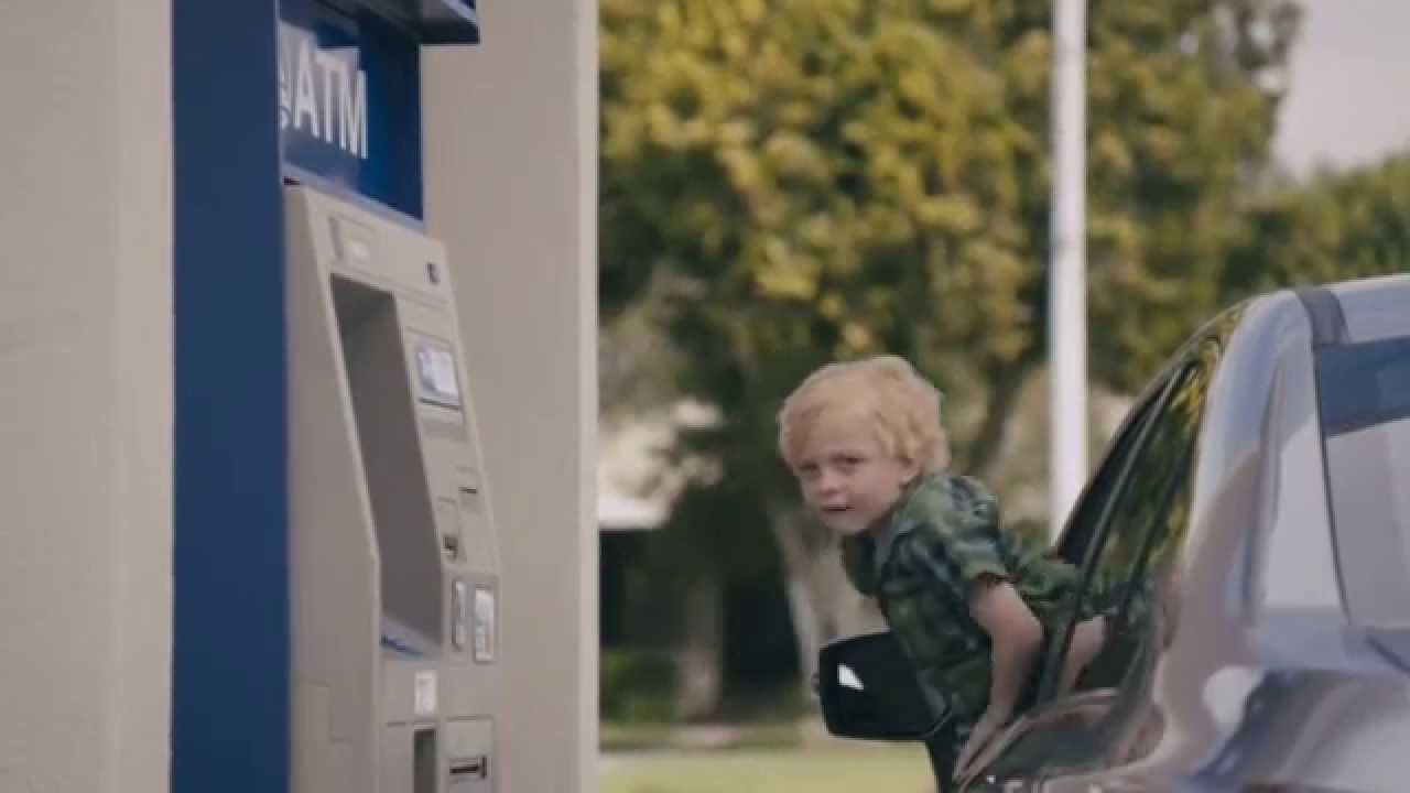 Little Kid Driving A Car Commercial