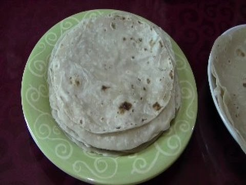 CHUCHEMAN     como hacer tortillas de harina - How to make Flour tortilla