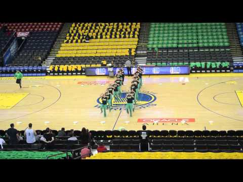 Bhangra Empire - Warriors Game 2013 - Rehearsal