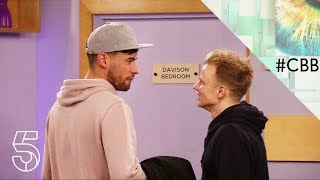 Shane J and Andrew have a pillow fight | Day 12 | Celebrity Big Brother 2018