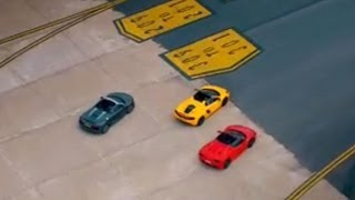 Supercar Runway Race | Top Gear | Series 20 | BBC