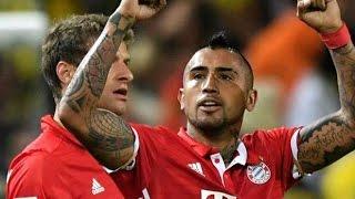 Арсенал 1-5 Бавария Гол Видаль