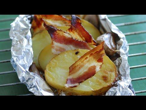 Очень вкусная запеченная картошка