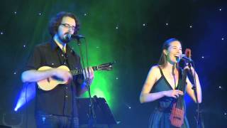"James Hill accompanied  by Anne Janelle plays Jazz style Ukulele ""Lying in Wait"""