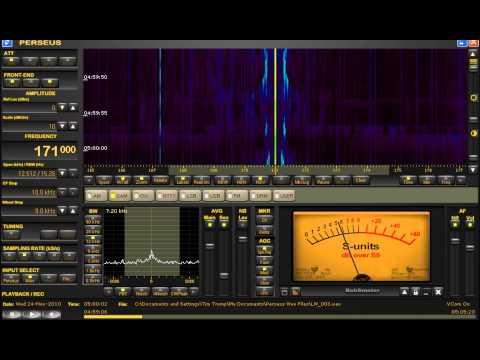 171 KHz Morocco Radio Méditerranée | Longwave DX | Perseus SDR from Michigan