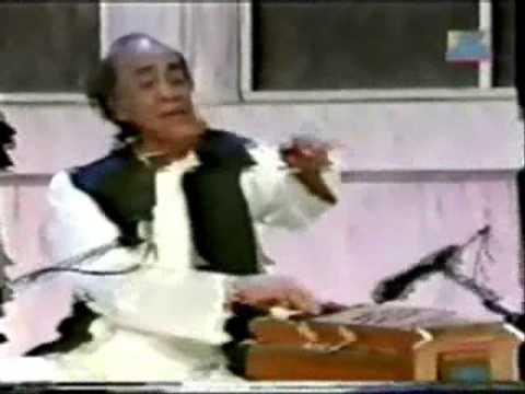 Mehdi Hassan live in India ranjish hi sahi Ahmad Faraz reads his ghazal in mushayra in India