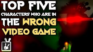 Top Five Characters Who Are in the Wrong Video Game - rabbidluigi