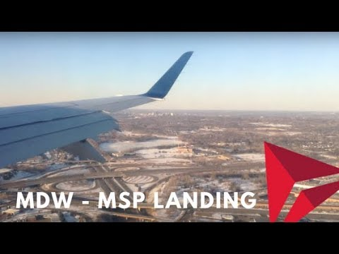 A Delta Connection Embraer 175 landing at the Minneapolis/St. Paul International Airport after a quick evening hop from Chicago Midway International (MDW). MSP was my pit stop on my way to...