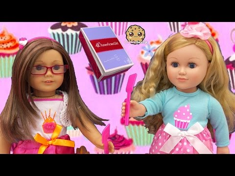 American Girl Doll Happy Birthday Outfit Clothing + My Life As Cupcake Baker Review