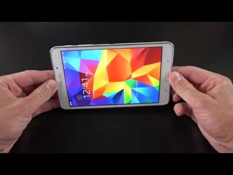 Samsung Galaxy Tab 4 7.0 Hands On   Unboxing. Detailed Review 2014 [HD]