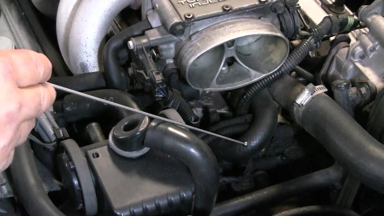 C4 Corvette Cutaway TB Block Off - YouTube