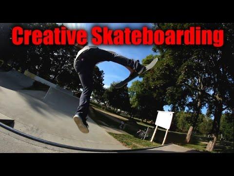 Creative Miniramp Skateboarding 11!