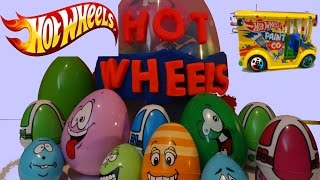 HOT WHEELS 30+ Surprise Eggs Surprise Cars2 Cars Matchbox McQueen Oeuf surprise Les Bagnoles