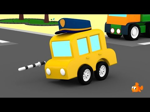 POLICE CARS! - Cartoon Cars for Kids - Cartoons for Children - Videos for Kids
