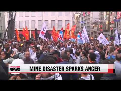 Turkey mine disaster sparks protest