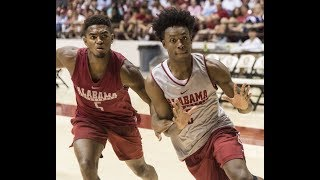 First look at Collin Sexton in Alabama jersey