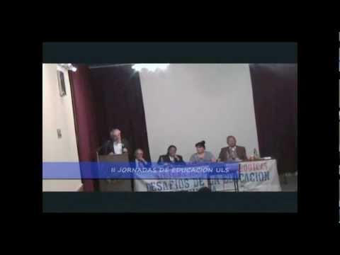 Alfonso Gumucio en las II Jornadas Pedagógicas