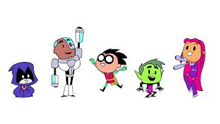 Download lagu Teen Titans Go! Intro Dance party Mash up Seasons 1- 4 HD
