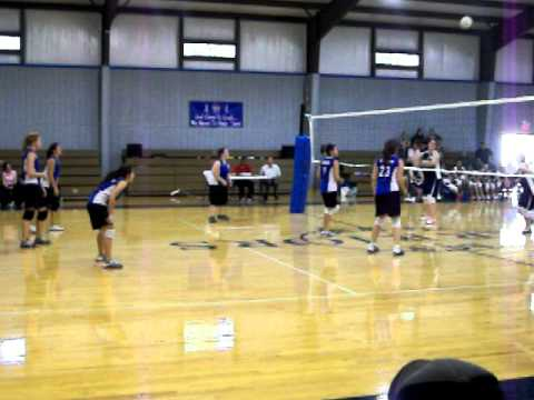 Ahoskie Christian School volleyball - 03/22/2011