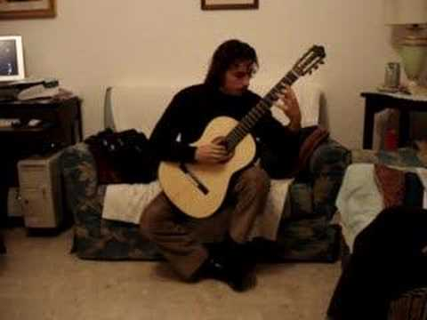 my new guitar scarlatti sonata.