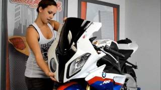 Hotbodies Racing 2011 BMW S100RR Headlight Cover Installation