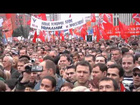 Raw Video: Mass Anti-Putin Rally in Moscow