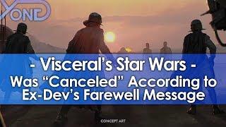 Ex-Dev Says Visceral's Star Wars Game was