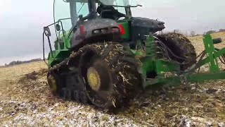 Harvest 17 - snow and mud...