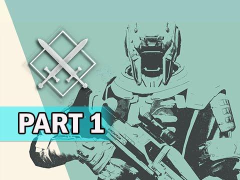 Destiny Crucible Multiplayer Gameplay Walkthrough Part 1