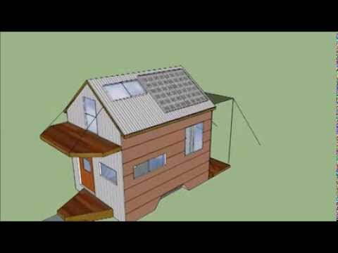 tiny house 5x8 ultra light home trailer plans music by