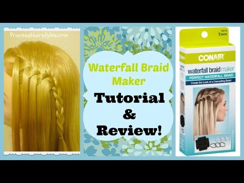 Waterfall Braid Maker Review and Tutorial. Does It Work?