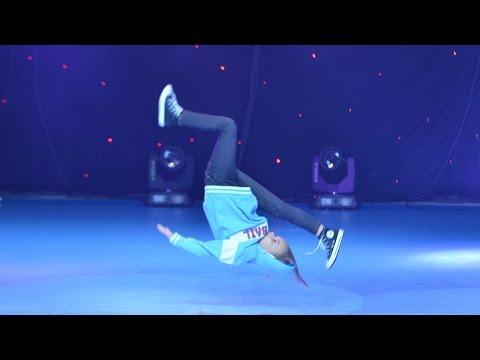 B-Girl V - 1st Place Breakdance Solo Kids / Dance Fest Novi Sad 2014 / AQUA