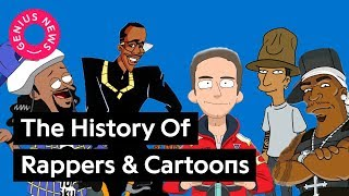 (6.16 MB) The History of Rappers & Cartoons | Genius News Mp3