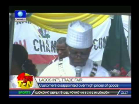 Lagos Int'l Trade Fair:Customers disappointed over high prices of goods
