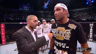 UFC on FUEL 10 TV: Fabricio Werdum Post-Fight Interview