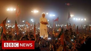 Celebrations after Prime Minister Modi wins Indian election - BBC News
