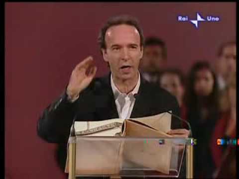 Roberto Benigni reads the Bible — Che nessuno diventi Caino
